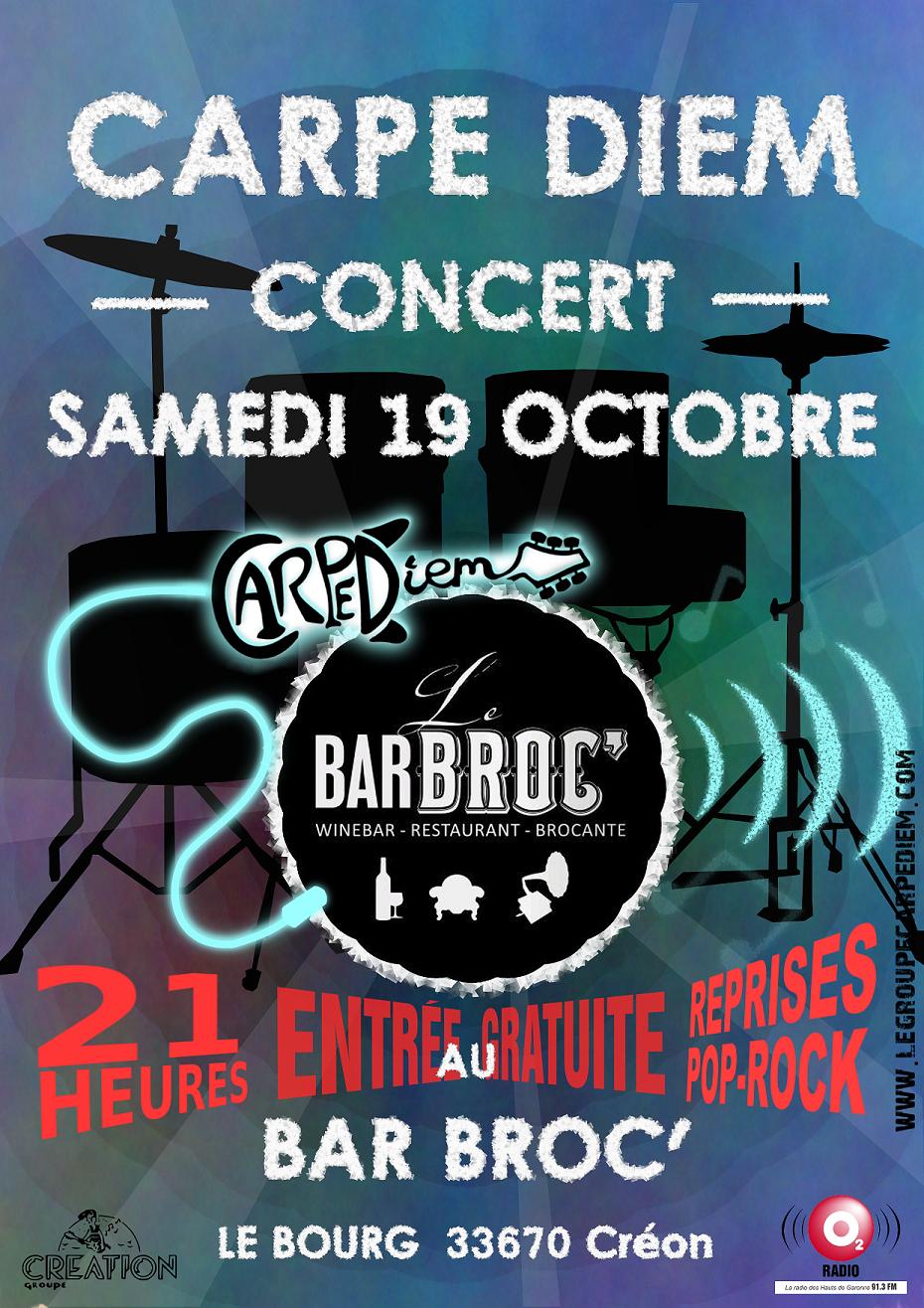 Bar-Broc carpe-diem concert creon
