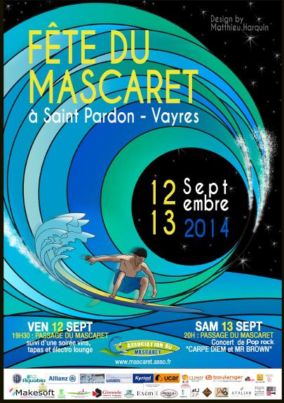 mascaret 2014 saint pardon de vayres concert carpe-diem