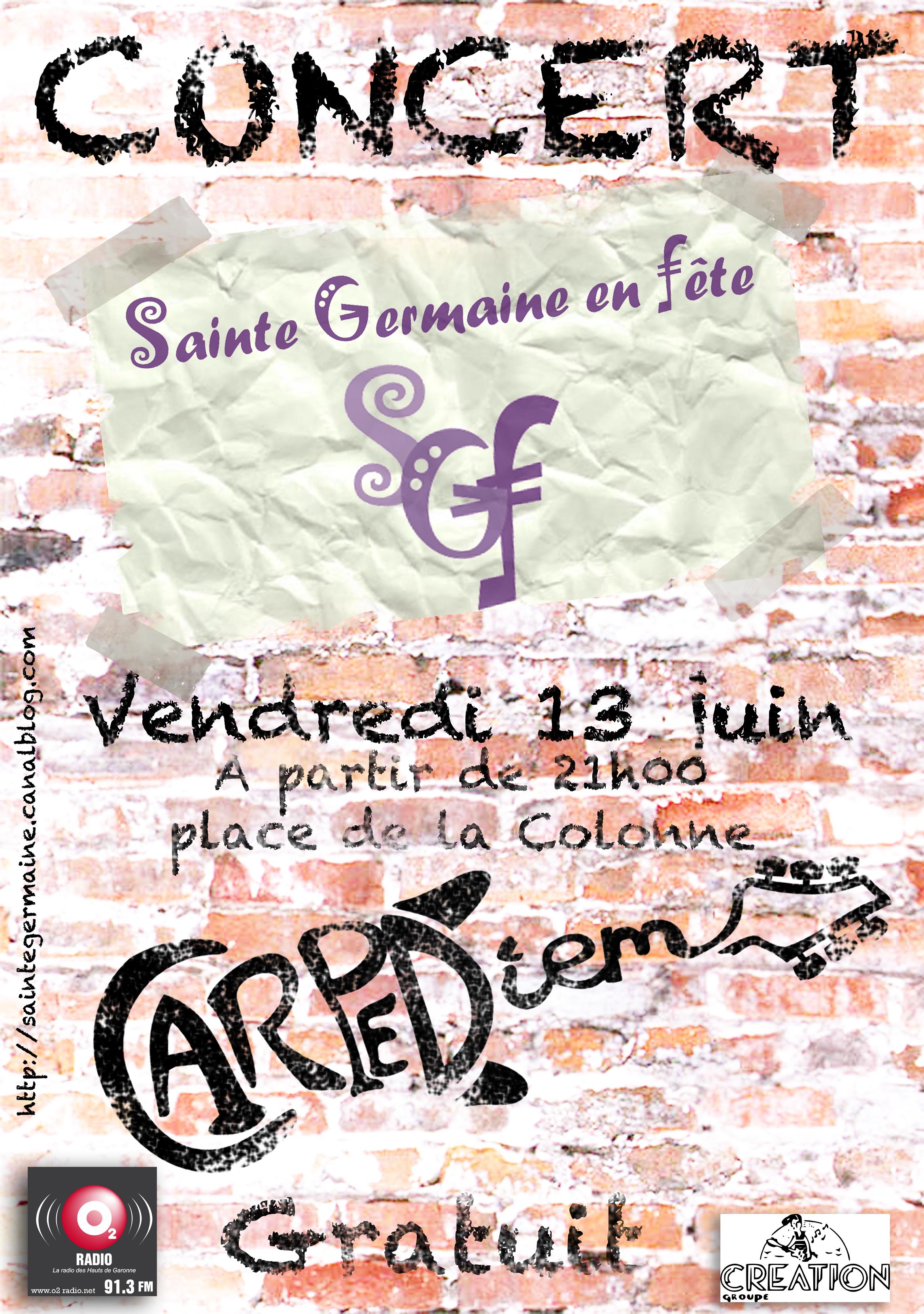 Concert sainte germaine - carpe_diem - bruge - bouscat