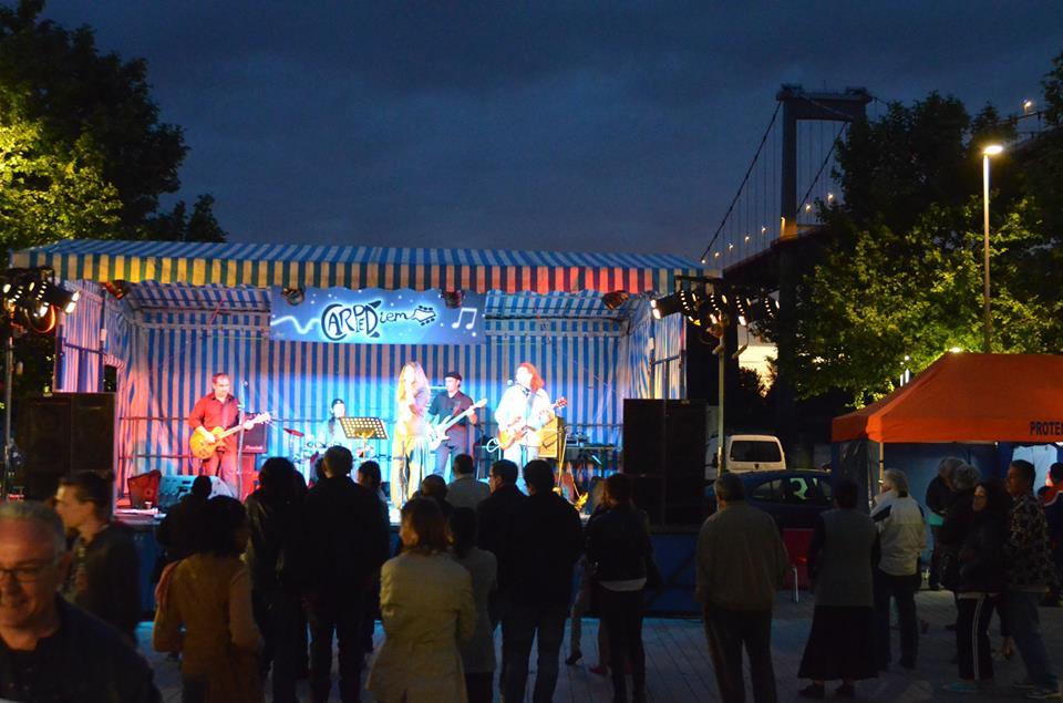 Carpe Diem concert Bord de Garonne