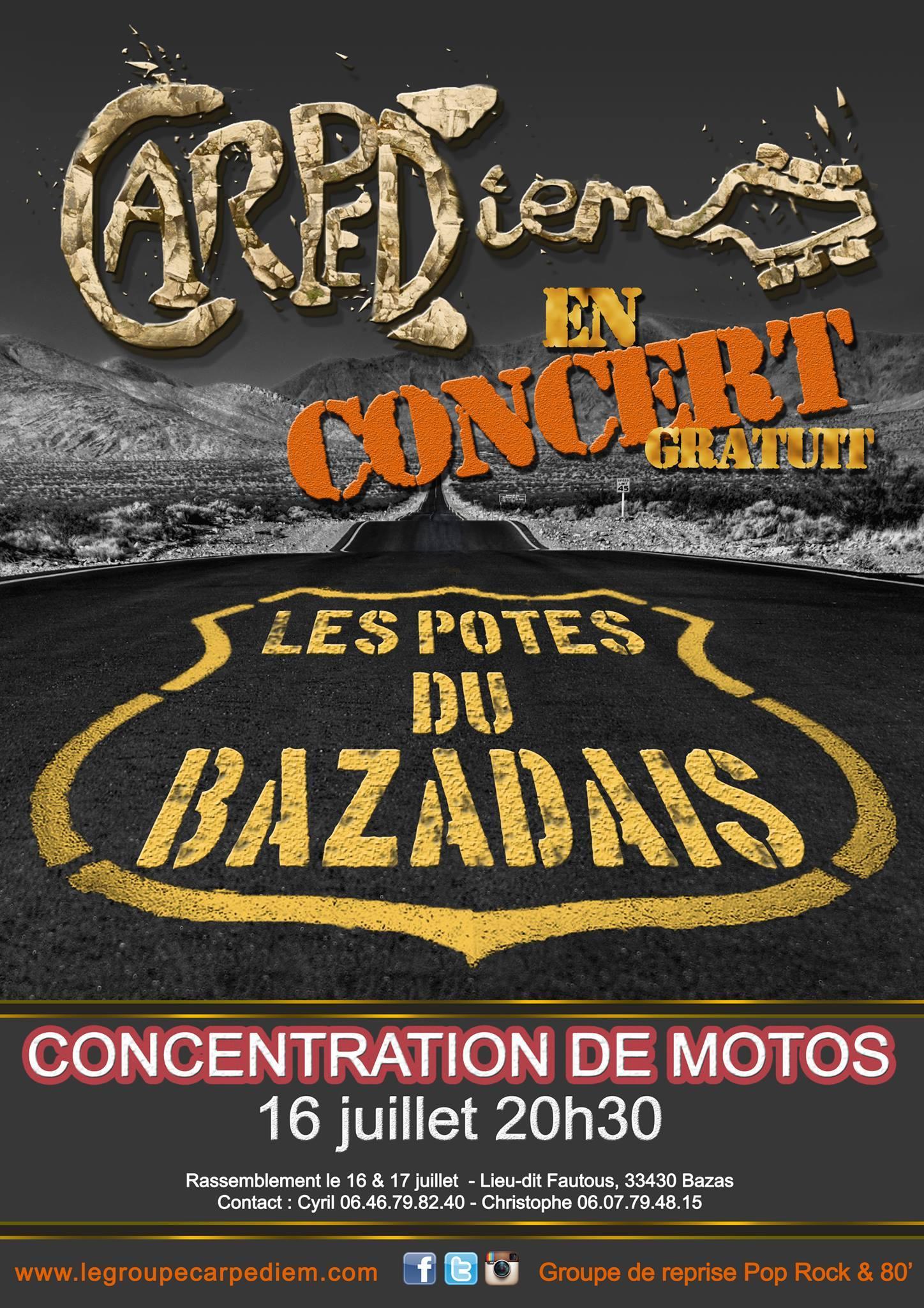 Concert-carpediem-les_potes_du_bazadais-rassemblement-motos