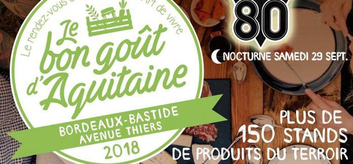 Marché nocturne: Le Bon Goût d'Aquitaine (Bordeaux-Thiers)