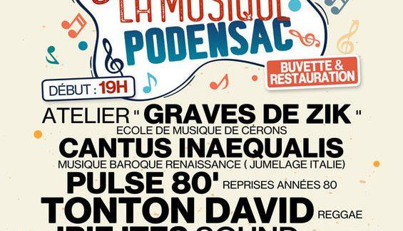 38ème Fête de la Musique de (Podensac)